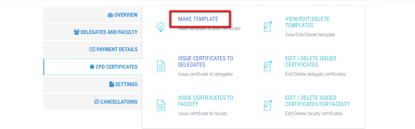 Make Certificate Template Bookcpd