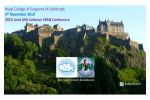 2019 Joint APA Linkman SPAN Conference, 4th November 2019 at Edinburgh